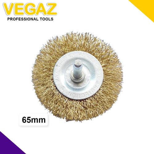 Foto Produk Mata Bor Sikat Kawat Kipas Baja Mata Tuner Sikat Kawat Kipas 65 & 75 dari Vegaz-Tools