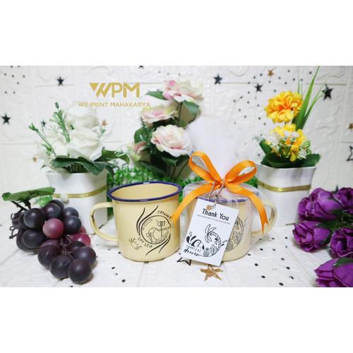 Foto Produk Mug enamel custome / Hadiah custom dari We_Print_Mahakarya