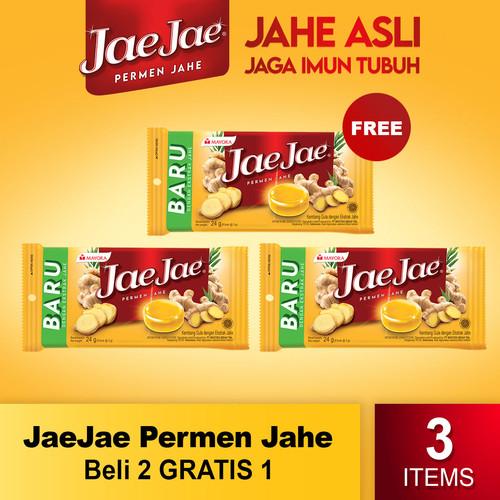 Foto Produk Jae Jae Permen Jahe Beli 2 Gratis 1 dari Mayora Official Store