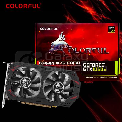 Foto Produk Colorful GeForce GTX1050Ti 4G-V 4GB GDDR5 - VGA GTX 1050 TI DDR5 dari GASOL SUMBERSARI
