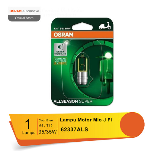 Foto Produk Osram Lampu Depan Motor Yamaha Mio J Fi 2012-2014 - 62337ALS dari Osram Automotive