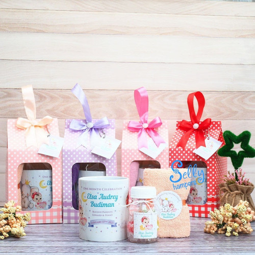 Foto Produk Baby one month-hampers-souvenir baby one month michelle dari Selly Hampers