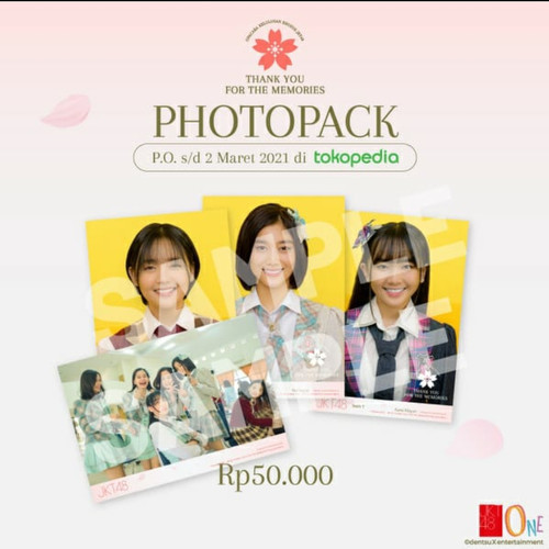 "Foto Produk JKT48 Photopack Special Edition ""Thank You For The Memories"" dari JKT48 Official Shop"