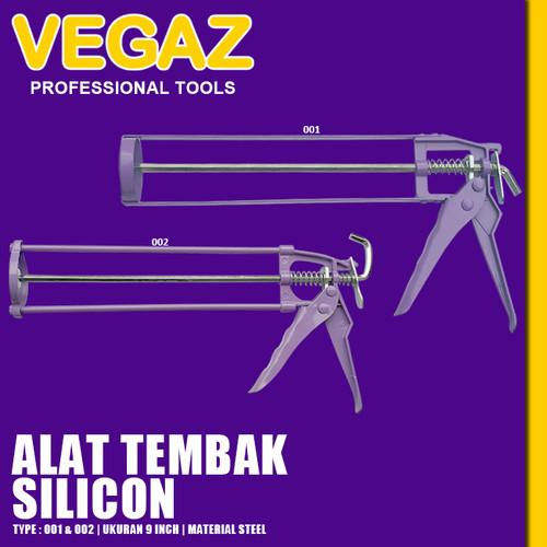 Foto Produk VEGAZ - Alat Tembakan Lem Tabung Alat Tembak Lem Kaca Silicon Sealer dari Vegaz-Tools