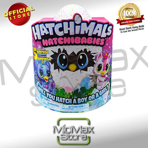 Foto Produk Hatchimals Hatchibabies Cheetree Hatching Egg with Interactive Pet dari Micmax Store