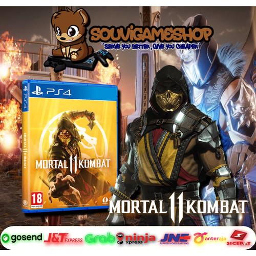 Foto Produk PALING MURAH !! PS4 MORTAL KOMBAT 11 CD GAME BD Eng dari souvigameshop