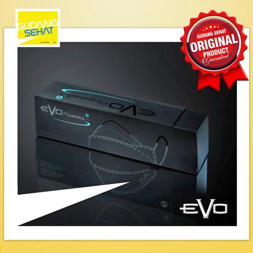 Foto Produk Masker Evo Plusmed 4D Super Black / Evoplusmed Hitam Limited Edition dari Gudang Sehat Store