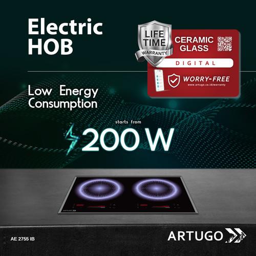 Foto Produk ARTUGO Built-in Electric Hob AE 2755 IB dari ARTUGO official store