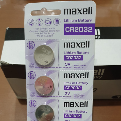 Foto Produk Baterai Maxell 3V CMOS CR2032 CR 2032 Original dari Dinar Creative