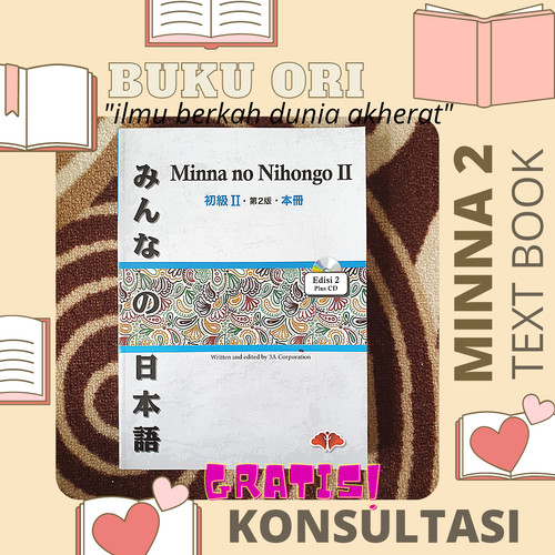 Foto Produk Minna No Nihongo 2 TEXTBOOK dari Warung Mas Senpai