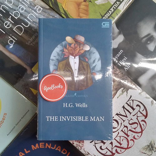 Foto Produk HG Wells - The Invisible Man, English Classics (ORI/Asli) dari Toko Buku ApeBooks