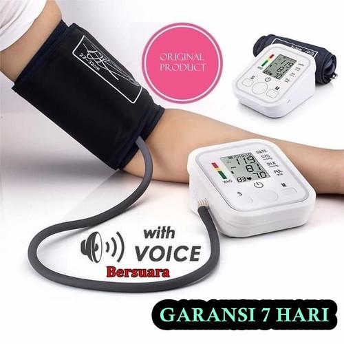Foto Produk Tensimeter Digital Bersuara Alat Pengukur Tekanan Darah Lengan Atas - Garansi 7 Hari dari Beauty n Health