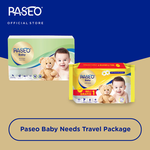 Foto Produk Paseo Baby Needs Travel Package dari Paseo Tissue Official