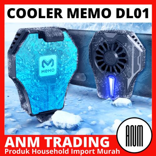 Foto Produk Cooler Handphone Memo DL01 / Fancooler Radiator / Pendingin HP DL 01 - DL01 dari ANM TRADING