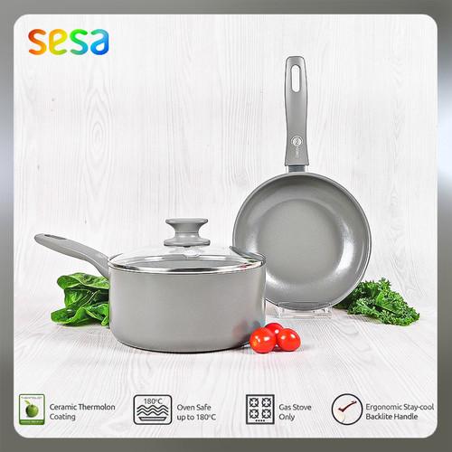 Foto Produk GreenPan Delight Grey GreenPan Set A isi 2pcs dari SESA Official