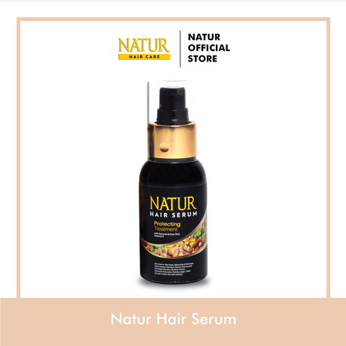 Foto Produk Natur Hair Serum 60 Ml dari Back To Natur