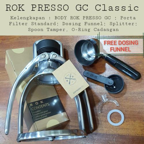 Foto Produk Rok Presso GC Classic Silver 2021 FREE Dosing Funnel dari Toko Rok Presso