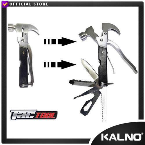 Foto Produk Tactool 18 In 1 - Alat Multifungsi / Palu Tang Obeng Pisau dari Kalno