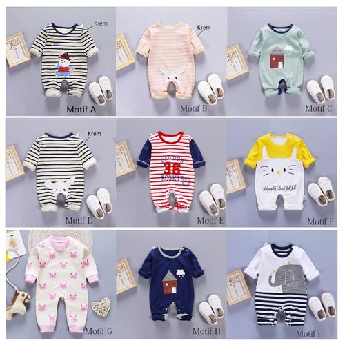 Foto Produk Jumper Bayi / Jumper Baby / Romper Bayi Imut dan Lucu - MOTIF B dari M&K ( Mom & Kids)