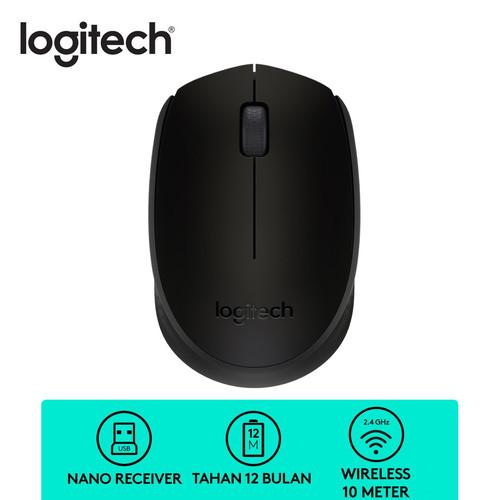 Foto Produk Mouse Logitech B 170 Wireless - Black dari Sinarmutiara Online