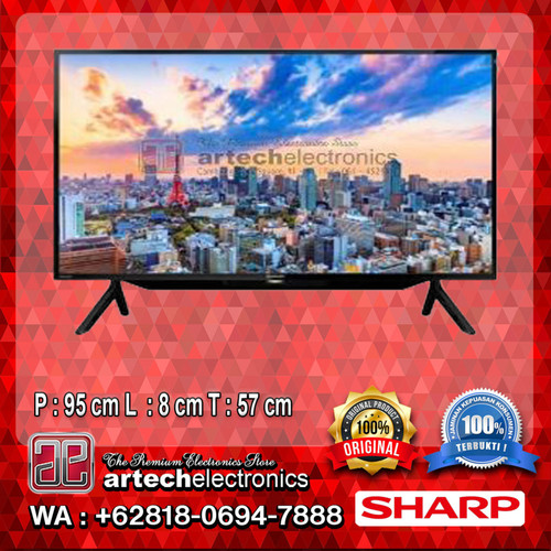 Foto Produk TV SHARP AQUOS LED TV 42 Inch 2T-C42BD1 MEDAN-SUMUT dari Artech Electronics Medan