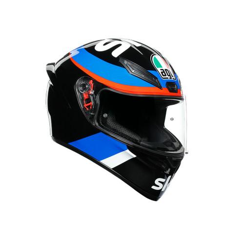 Foto Produk AGV K1 VR46 Sky Racing Black Red - M dari RC Motogarage