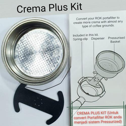 Foto Produk Crema Plus Kit Pressurized Kit ROK Original dari Toko Rok Presso