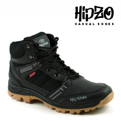Foto Produk Sepatu Pria Terbaru Sepatu Pria Hiking Sepatu Gunung Pria Sepatu Ridin - Hitam, 39 dari Hipzo Official Shop