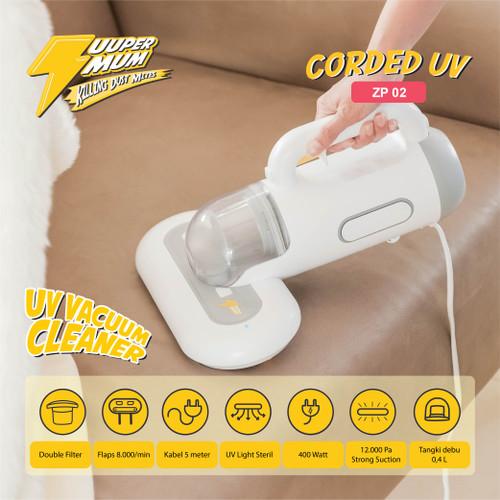 Foto Produk Vacuum Cleaner UV Dust Mites - Zuuper Mum (Corded 5 meters) ZP02 dari Paninti Hub