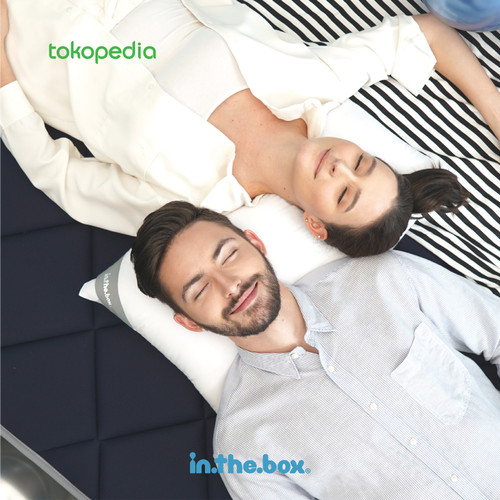 Foto Produk INTHEBOX HYBRID 160x200 - Biru dari INTHEBOX Official Store