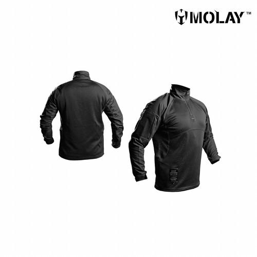 Foto Produk Kemeja Molay™ Spec-Ops Combat Shirt - Black, S dari Molay