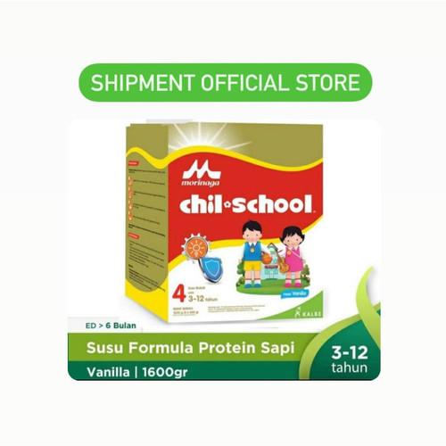 Foto Produk Chil School 1600 Gold VANILLA 4x400gr ChilSchool Vanila Jumbo Reguler - PackingEkonomis dari Shipment