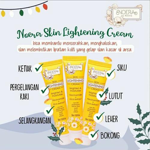 Foto Produk Noera Skin Lightening Cream - Armpit Cream Pemutih Lipatan dari Rumah Masker Pamulang