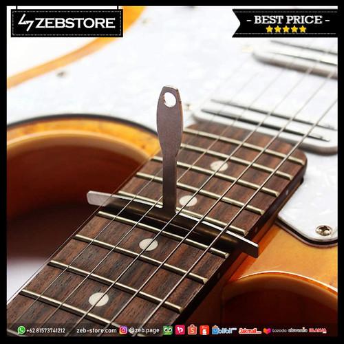 Foto Produk 9Pcs Understring Radius Gauges String T Shape Metal Guitar Tools dari Zeb Hobbies Store