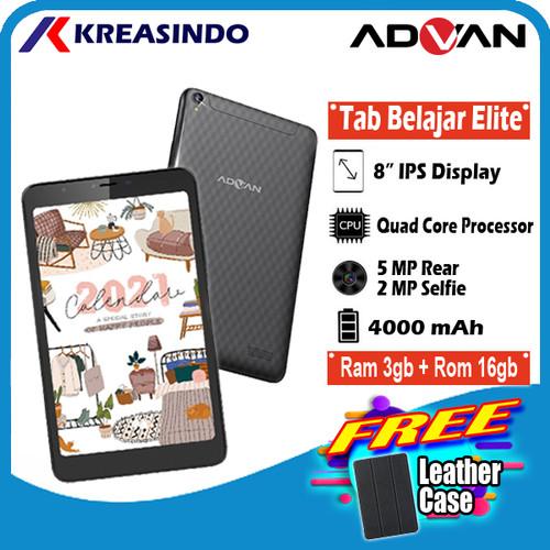 Foto Produk Advan Tab Belajar Elite 3/16 Ram 3GB Rom 16GB Tablet 8 Inch Resmi - Hitam dari Kreasindo Online