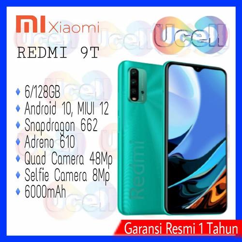 Foto Produk Xiaomi Redmi 9T - 4/64GB & 6/128GB - Garansi Resmi - Abu-abu, 4/64GB dari ucell cempaka