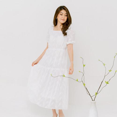 Foto Produk Chocochips - Aloysia Dress White - Putih, S dari Chocochips Official Shop