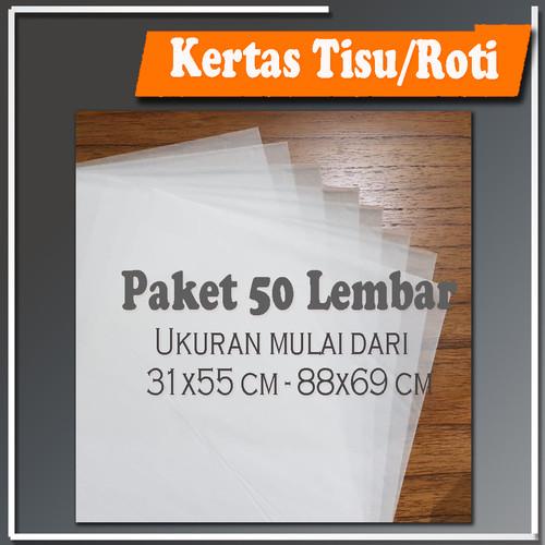 Foto Produk Kertas Tisu Tissue Paper Packaging Wrapping Online Shop - 31x55 cm dari deartz print