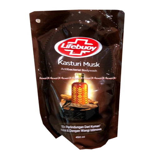 Foto Produk Lifebuoy Kasturi Milk Body Wash Anti Bacterial Refill Sabun Mandi Cair dari DZ-world