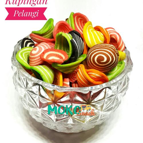 Foto Produk Kupingan warna warni 500gr dari Mokosnacksby