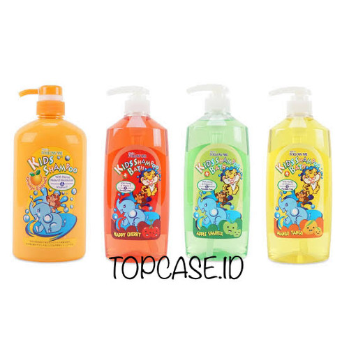 Foto Produk FOLLOW ME KIDS SHAMPOO WITH HONEY AND VITAMIN E 800ML - ORANGE Shampoo dari Topcase ID