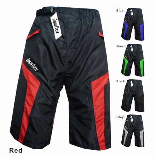 Foto Produk Celana OR pants Celana sepeda balap Celana shimano Gowes Celana pad - Merah, M dari SINGLETREK OFFICIAL