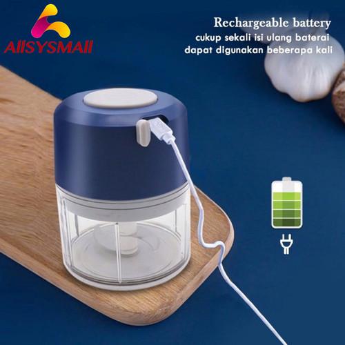 Foto Produk Blender mini Elektrik Otomatis Multifungsi |Food Chopper Portable dari ALLSYSMALL