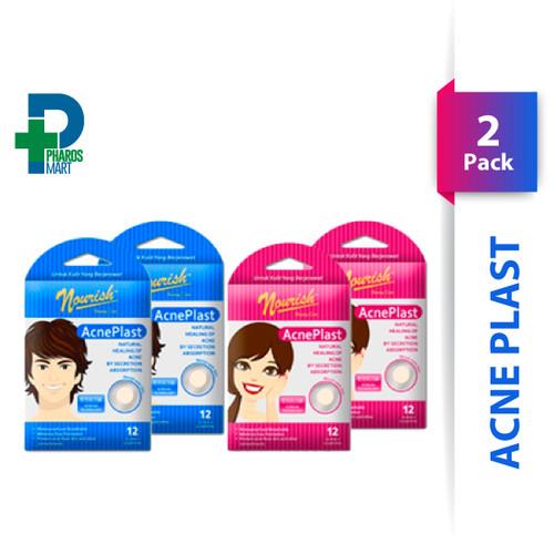 Foto Produk Nourish Beauty Care Acne Plast Girl & Boy (Twin Pack) - Acne Patch - Boy dari Pharos Official Store