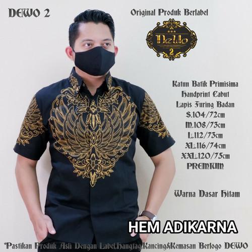 Foto Produk kemeja batik lengan pendek pria slimfit premium dari Jivan Batik