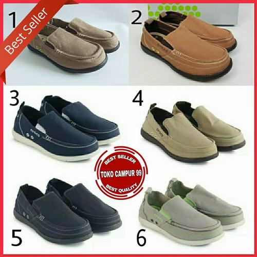 Foto Produk Sepatu Crocs Walu men/Sepatu Crocs pria/Walu Men dari Toko Campur 99