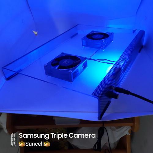 Foto Produk cooling pad laptop tahan 24 jam 6.000 Rpm angin TOPAN - Gambar no 1, Bening dari Suncell