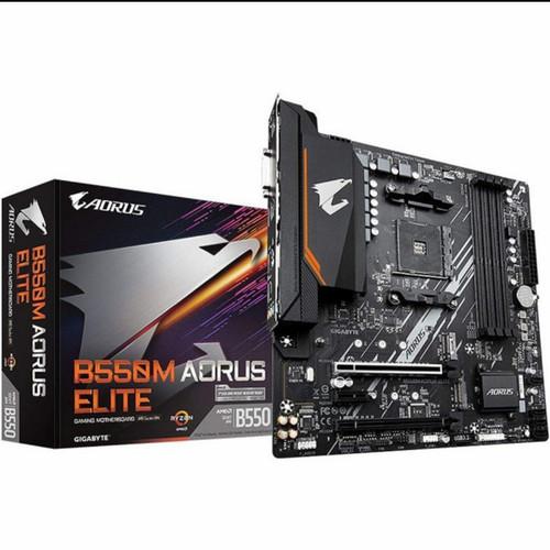 Foto Produk Motherboard Gigabyte AMD B550M AORUS ELITE Limited Stock! dari Rathur Project