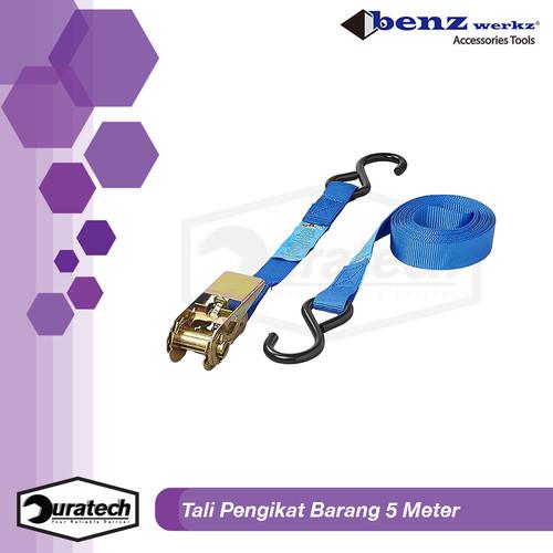 Foto Produk Tali pengikat Barang motor / Ratchet tie down 1x5meter Benz Werkz dari duratech