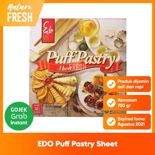 Foto Produk Edo Puff Pastry Sheet - Kulit Adonan Kue Puff Siap Saji Bahan Kue Roti dari NatureFresh